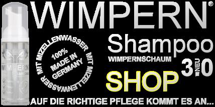Wimpernshampoo